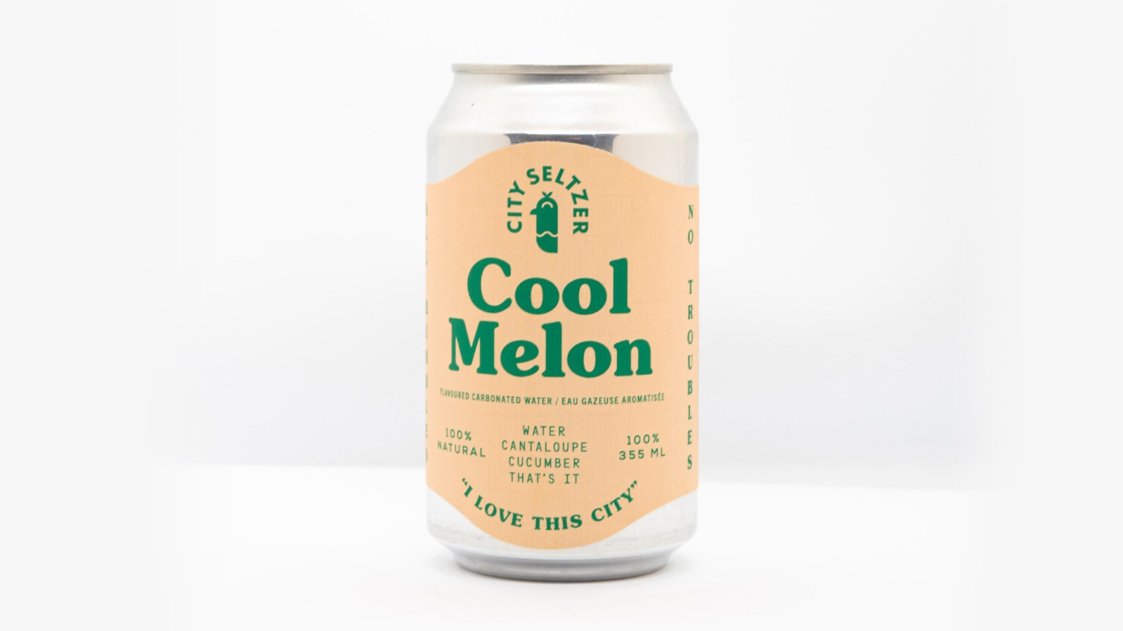 City Seltzer Cool Melon
