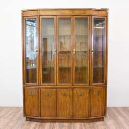 """Drexel Heritage"" Asian Style China Cabinet"