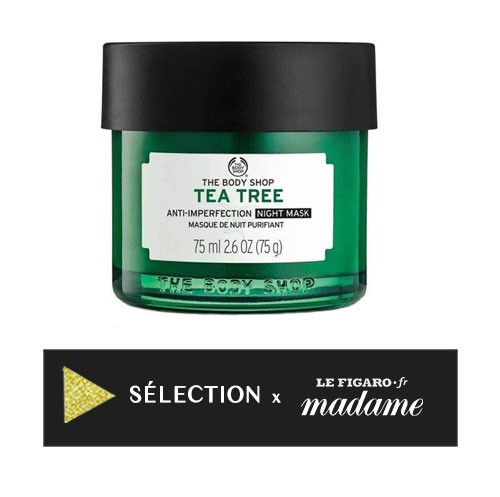 Masque de Nuit Purifiant Arbre a The