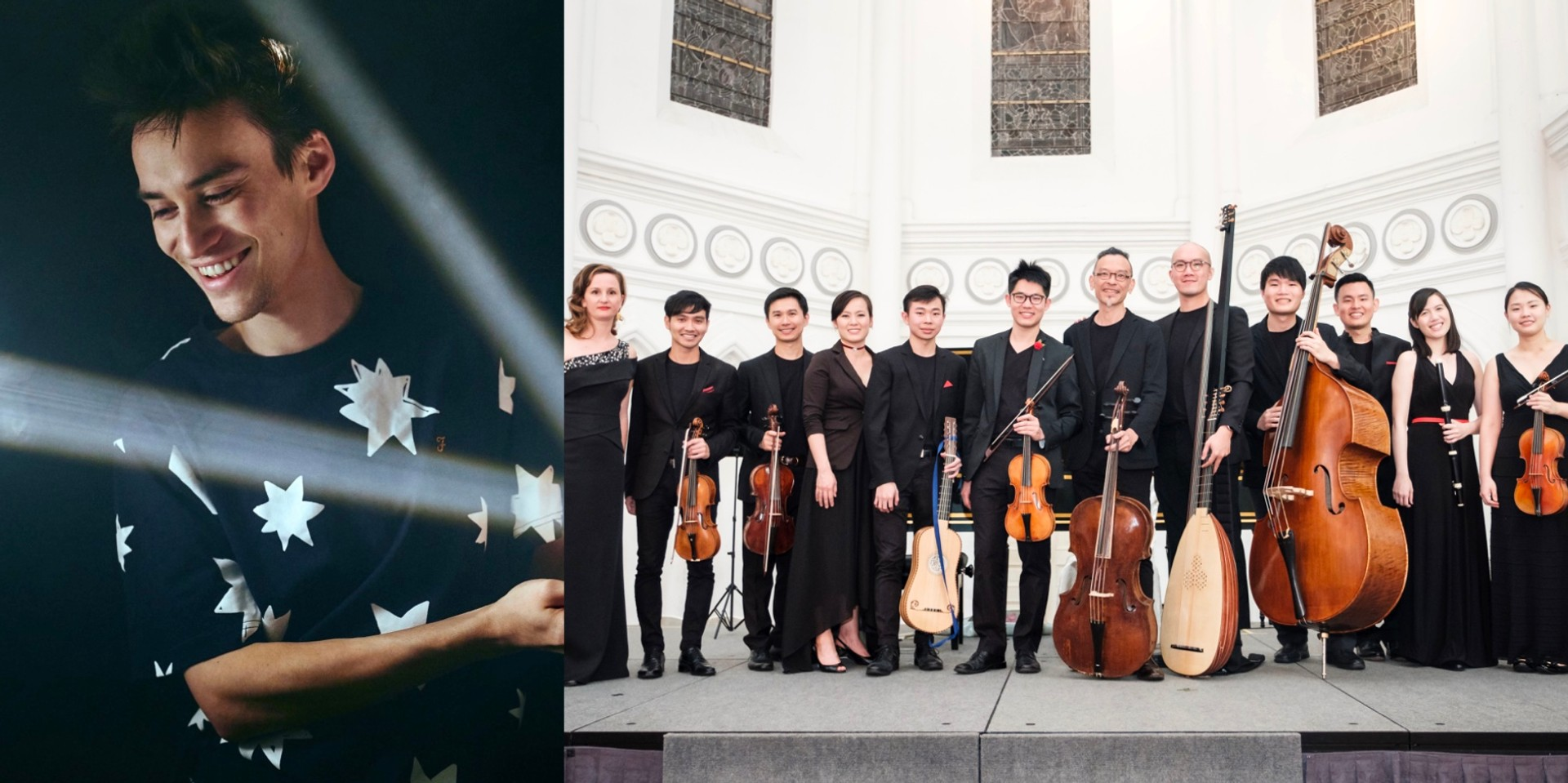 Jacob Collier, Red Dot Baroque, and SOURCE x Audible Lands join Singapore International Festival of Arts' virtual programmes