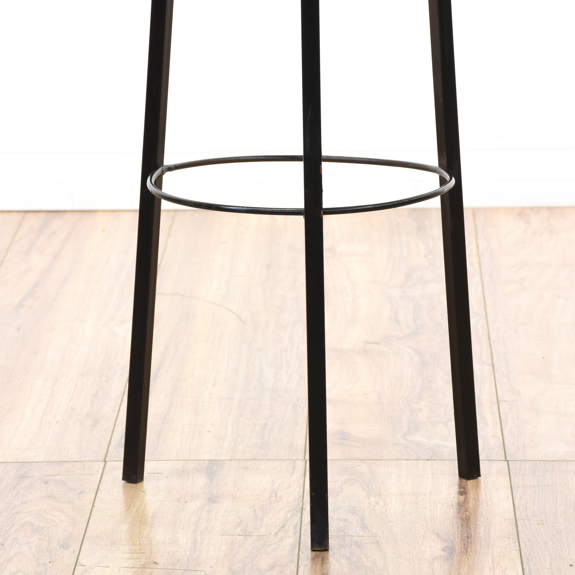 Pair Of Mid Century Modern Metal Plant Stands Loveseat Vintage Furniture Sa
