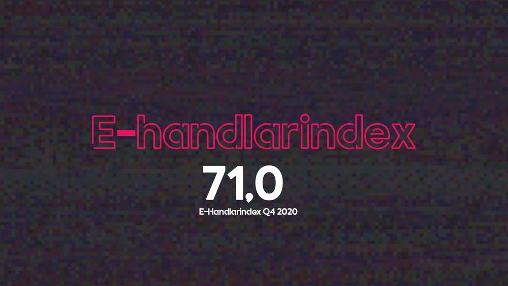 E-handlarindex Q4 2020