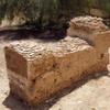 Grave detail, Jewish Cemetery, Sohar, Oman, 2017. Photo courtesy Murray Meltzer.