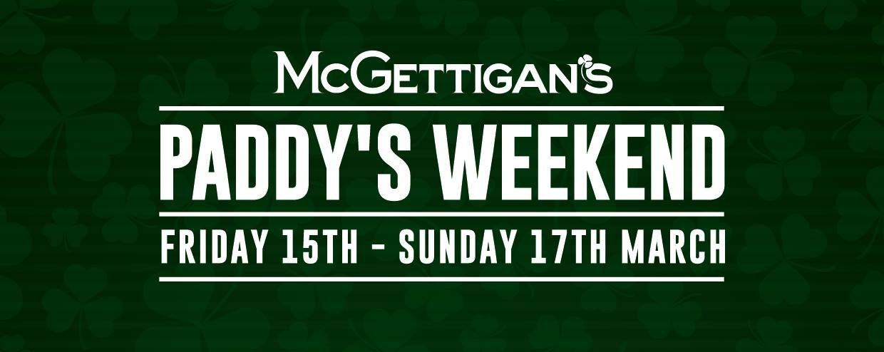 McGettigan's Paddy's Weekend