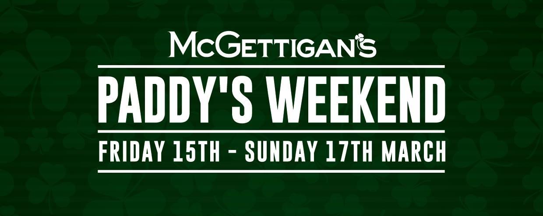 McGettigan's Paddy's Weekend