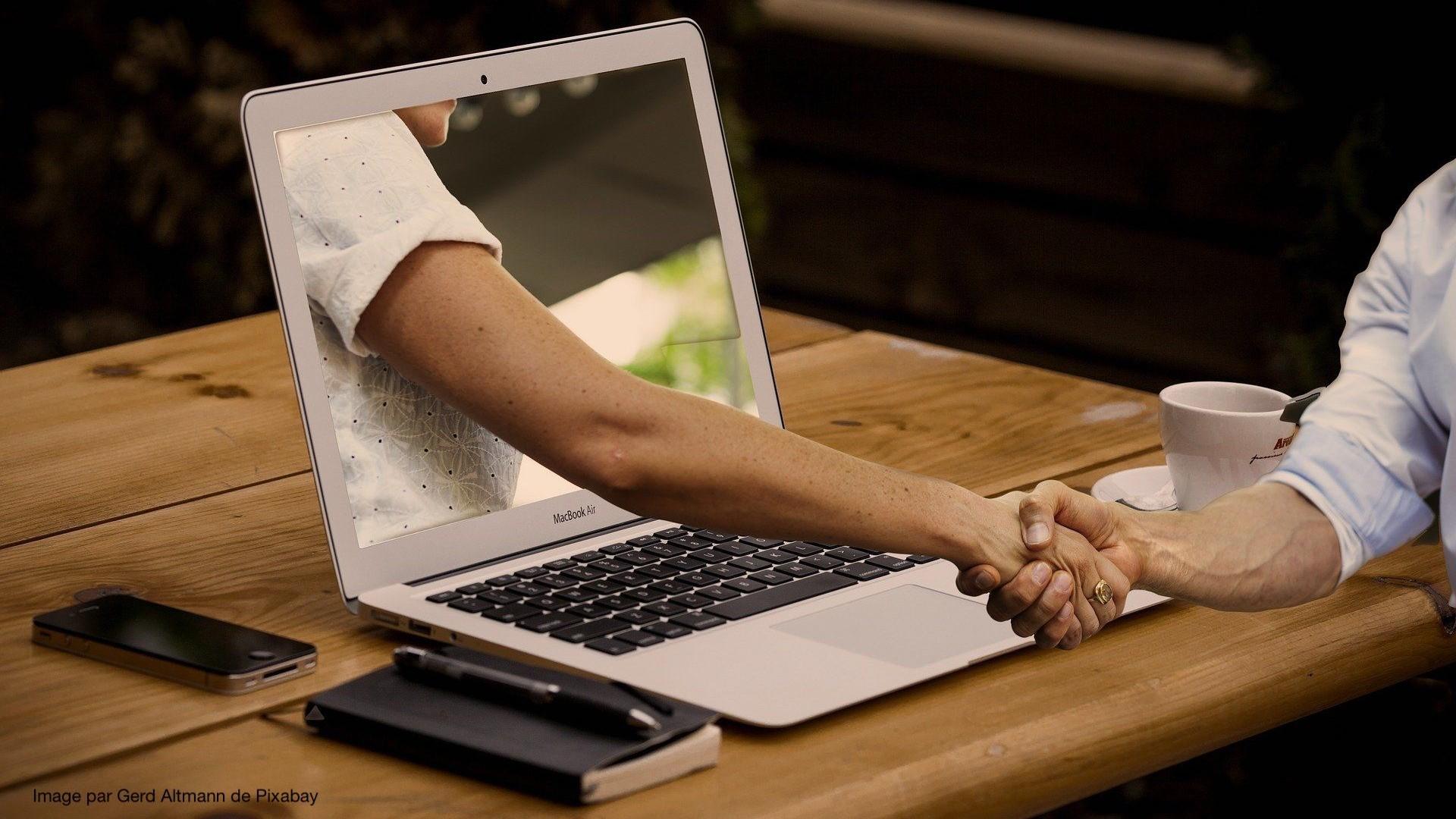 Représentation de la formation : Concevoir une formation en ligne spécifique au contexte de la relation d'aide