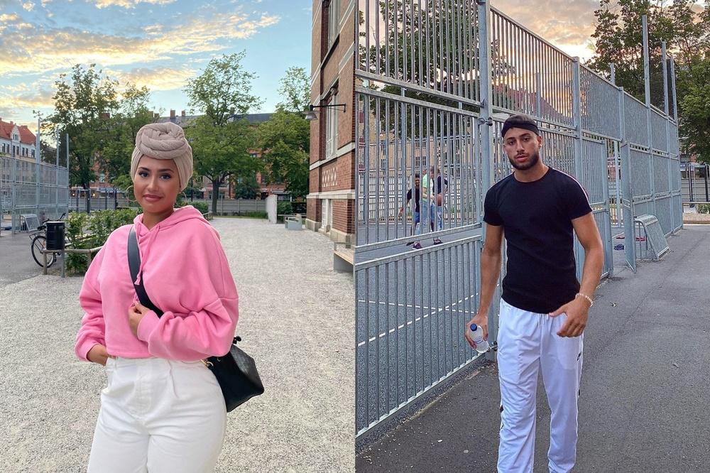 Aiphora. Co founders - Gina Saighani, Maythem Haddad.