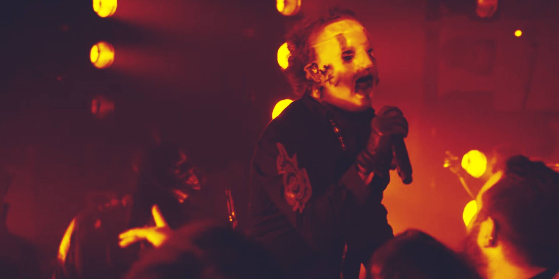 Now you can pretend you're at a Slipknot concert while stuck in lockdown – watch