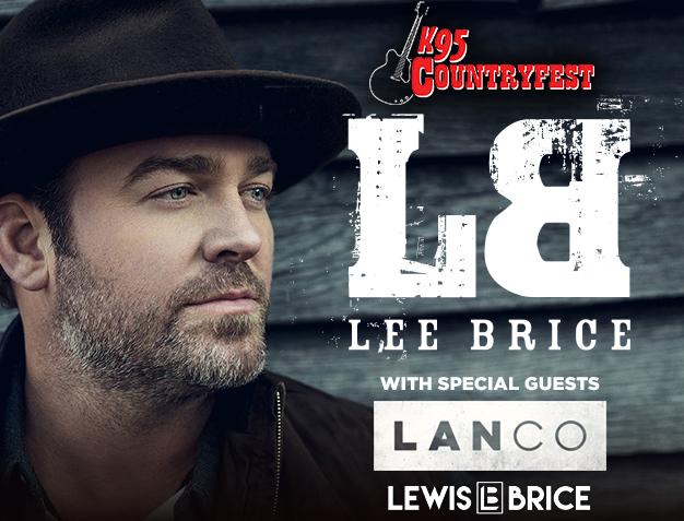 IAH- K95 Countryfest- Lee Brice, July 6, 2018, gates 5pm