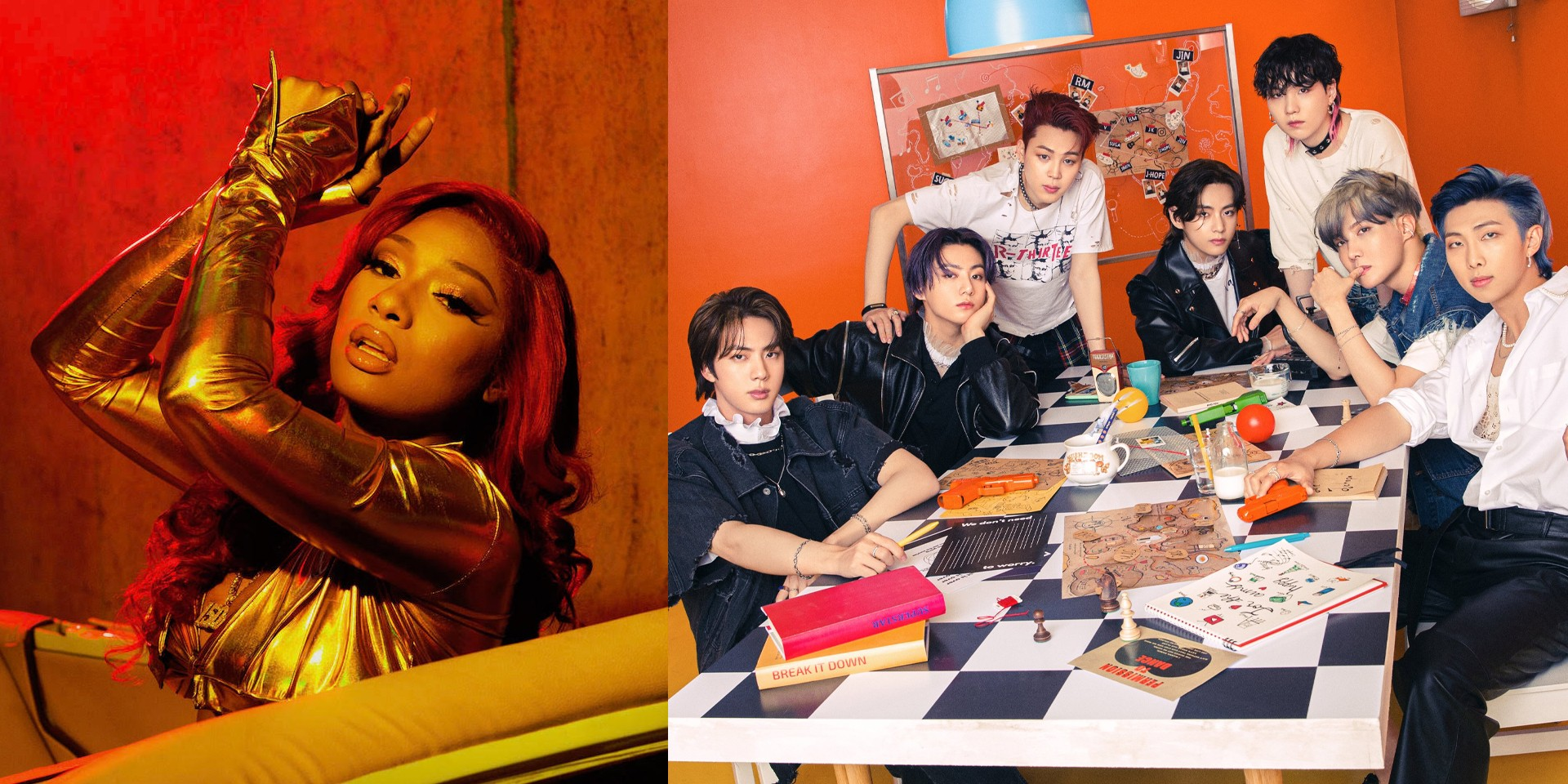 Megan Thee Stallion and BTS drop highly anticipated 'Butter' remix – listen