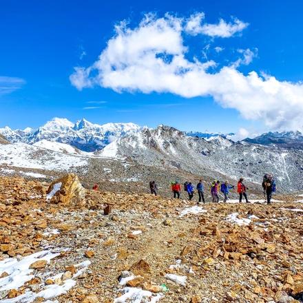 Kanchenjunga south &North base camp Trek