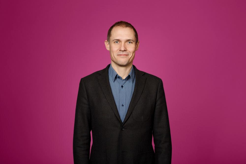 Marcus Skärbäck, Investment Manager på Almi Invest. Foto: JohanTöpel.