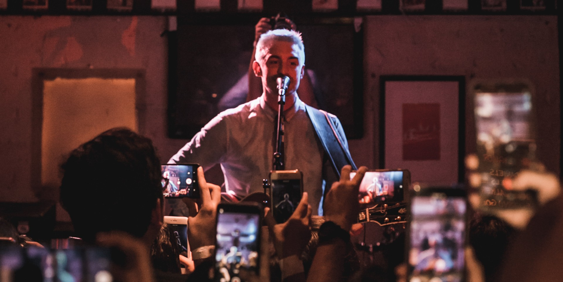 Kyle Patrick wowed Filipino audience at secret show in Quezon City