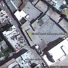 Eliyahu Hanavi Synagogue, Jobar, Damascus, Syria, satellite view, 2011, pre-destruction.