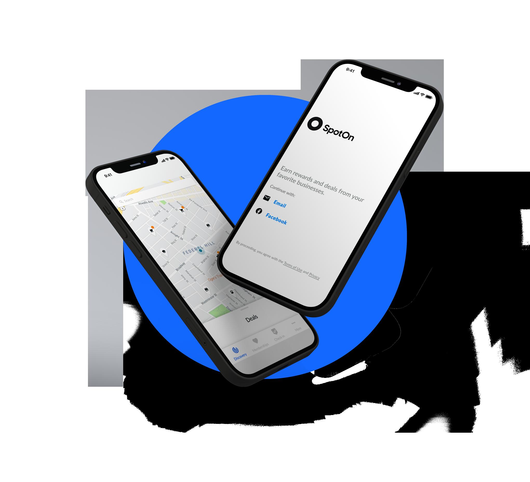 SpotOn App On Mobile