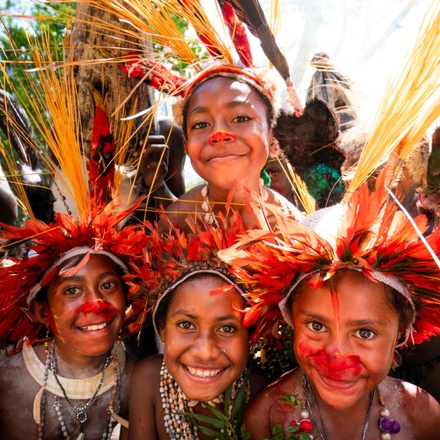 Papua New Guinea - Voices on the Wind