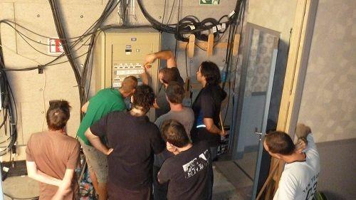 Représentation de la formation : Préparation à l'habilitation électrique
