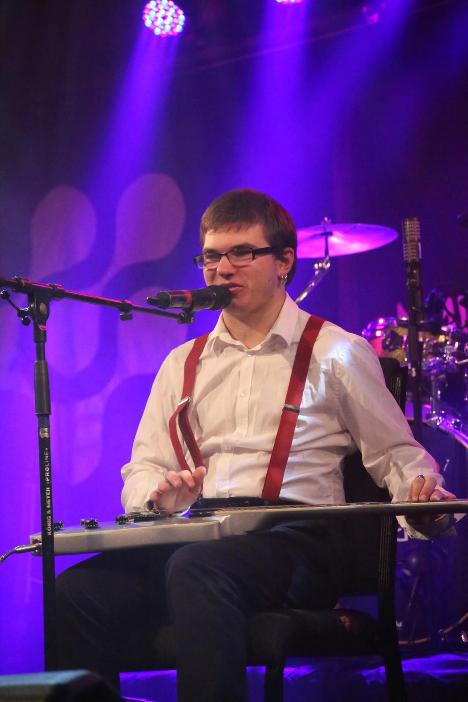 Sebastian Bäcklund från Göteborg är en av finalisterna i Musikschlaget 2019.