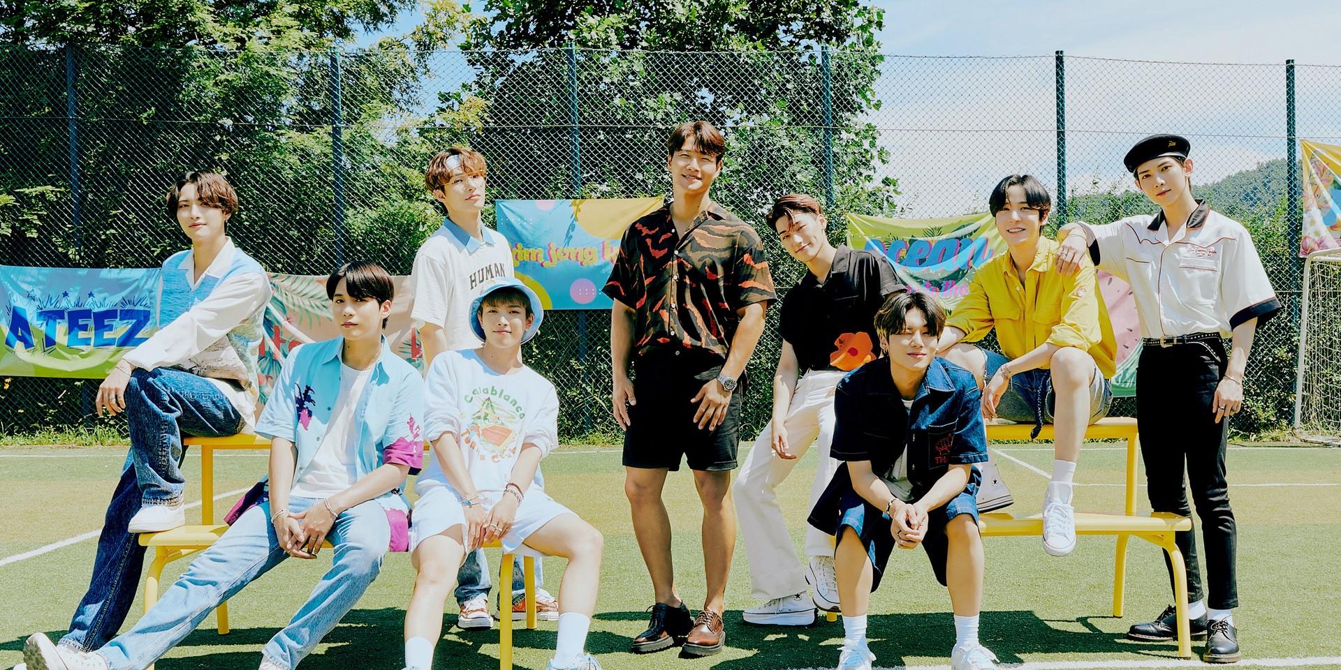 ATEEZ and Kim Jong Kook unveil summer collaborative mini-album 'Season Songs' – watch