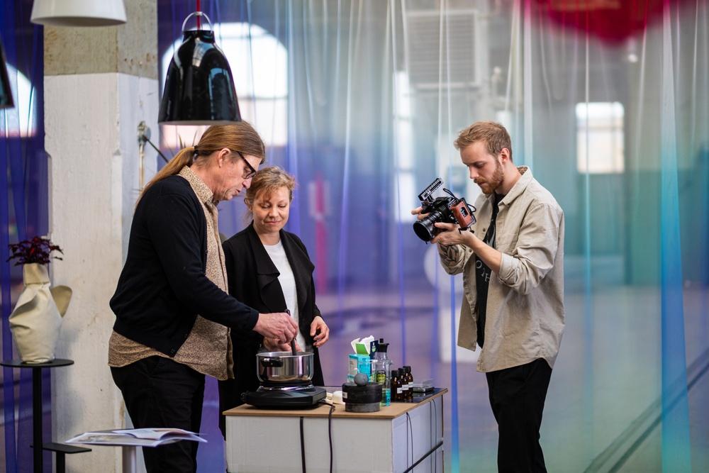 Jonas Larsen och Charlotte Asbjörn Sörensen från Malmö universitet
