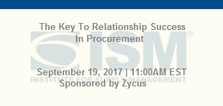 The Key To Relationship Success In Procurement