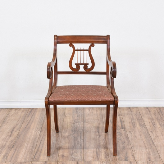 Dining Room Furniture San Diego: Set Of 6 Neoclassical Harp Back Lyre Dining Chairs