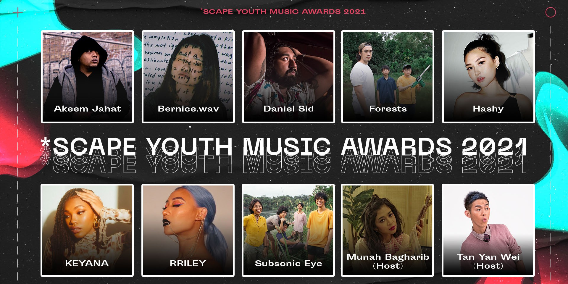 The countdown to *SCAPE Youth Music Awards 2021 has begun - here's everything you need to know about it