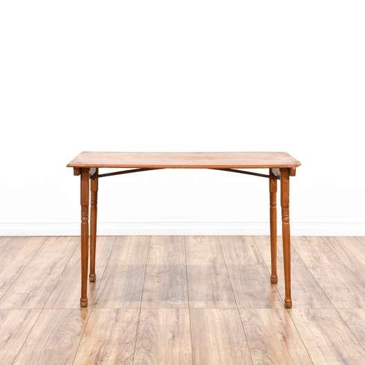 Shabby Folding Wood Table