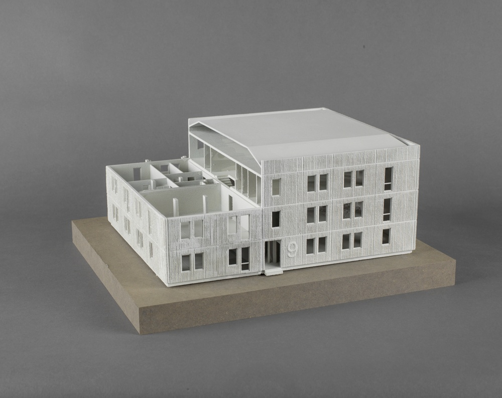 José Hernández and Helena Westerlind Skarne system – Sweden 1950s, 2017  Model, powder based 3D print