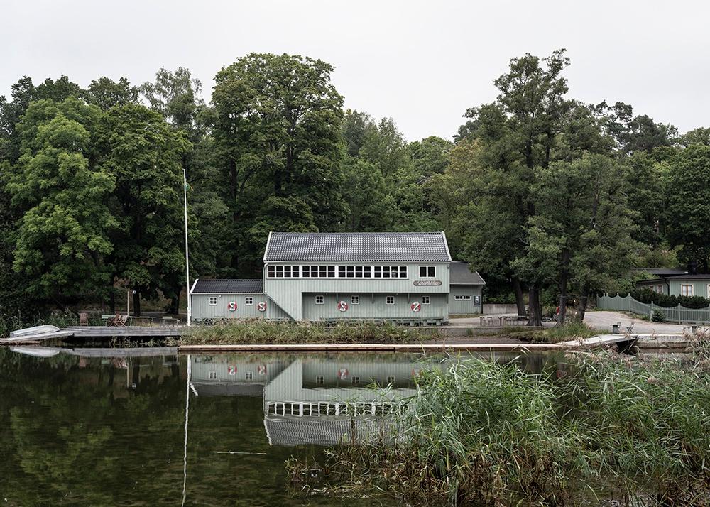 Stockholm Rowing Club. Djurgården, Stockholm. Cred: Johan Dehlin.