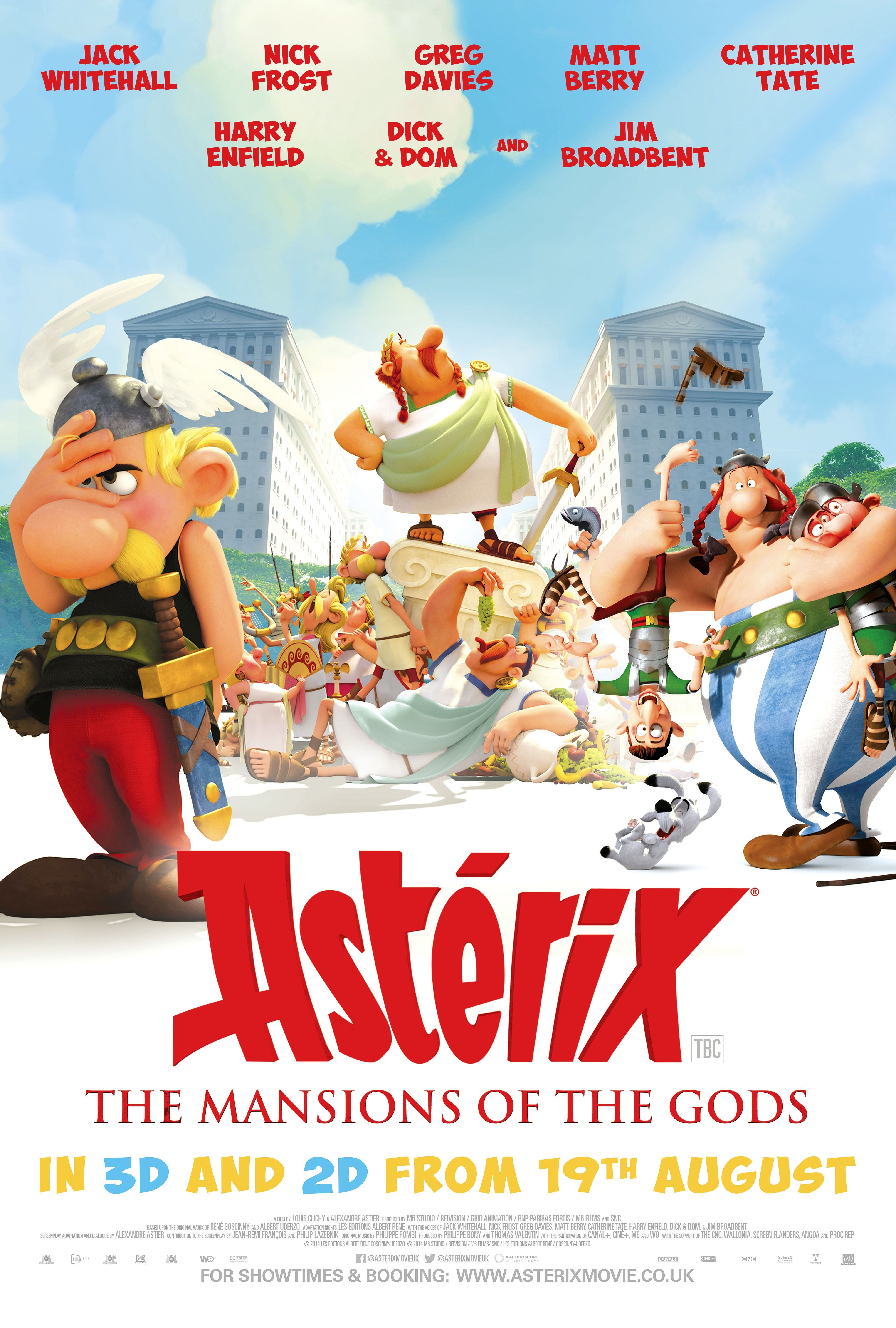 Asterix And Obelix - Mansion Of The Gods (3D)