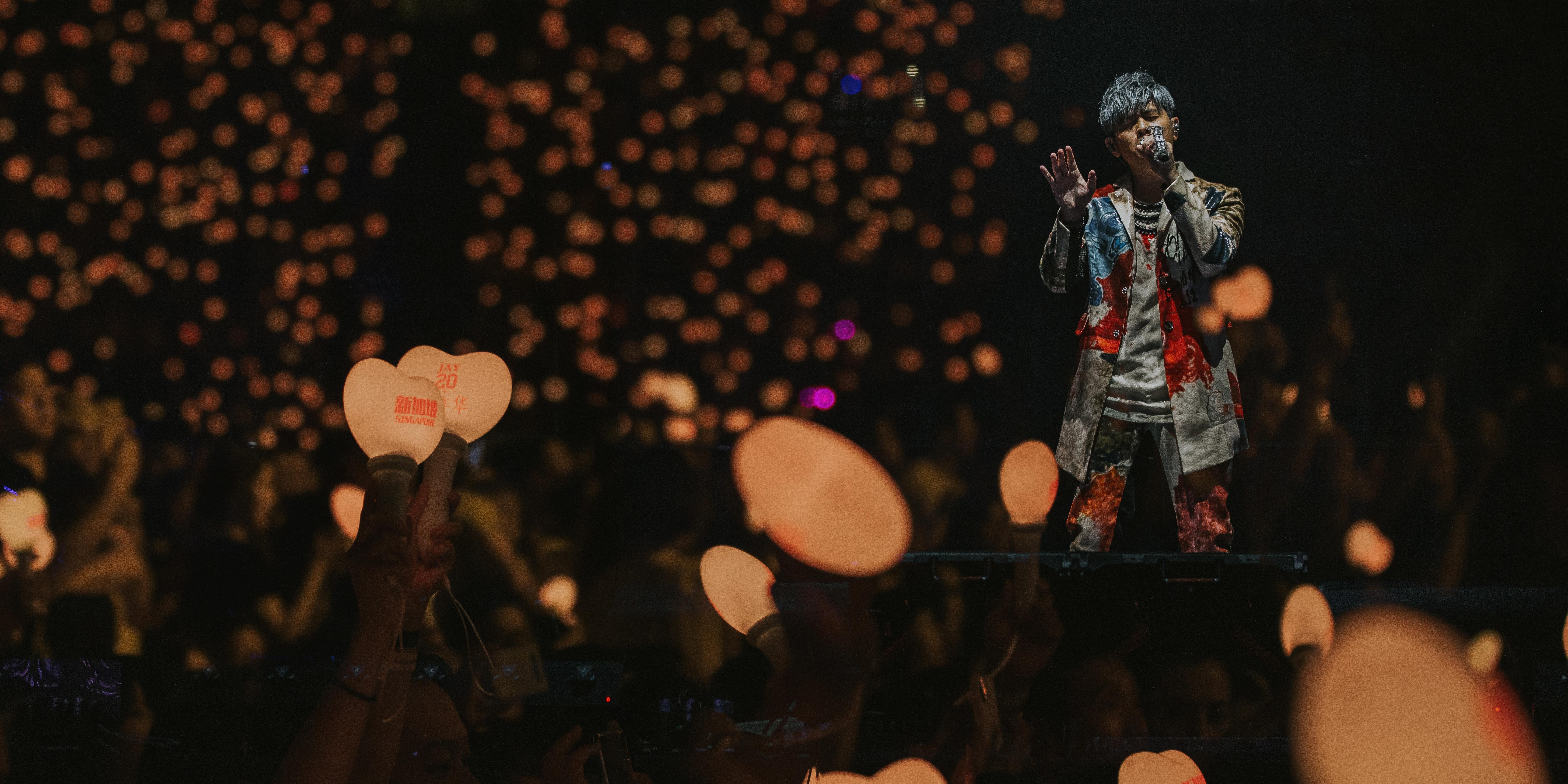 周杰伦嘉年华演唱会 呈现华语音乐最华丽辉煌的20年