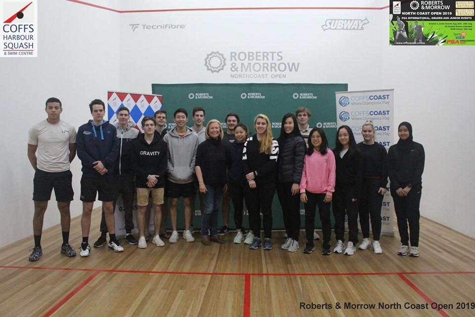 NSW | Roberts & Morrow North Coast Open World Qualification Event Coffs Harbour - Day 2 - Squash Australia
