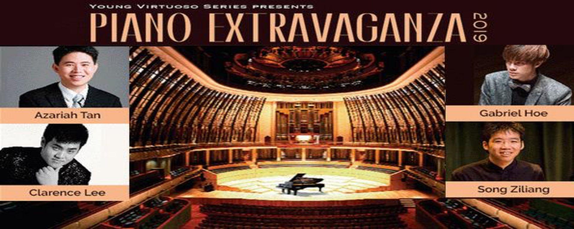 Young Virtuoso Series Presents: Piano Extravaganza 2019