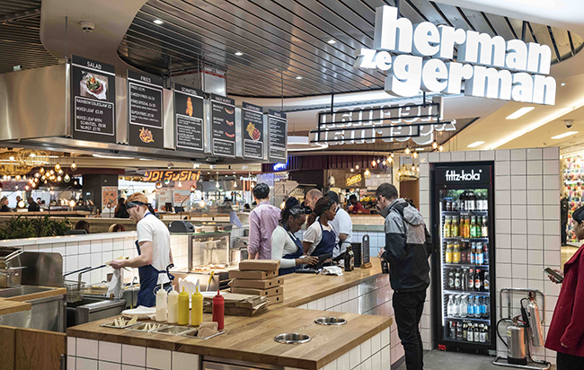 Herman ze German opens at Birmingham's Grand Central.