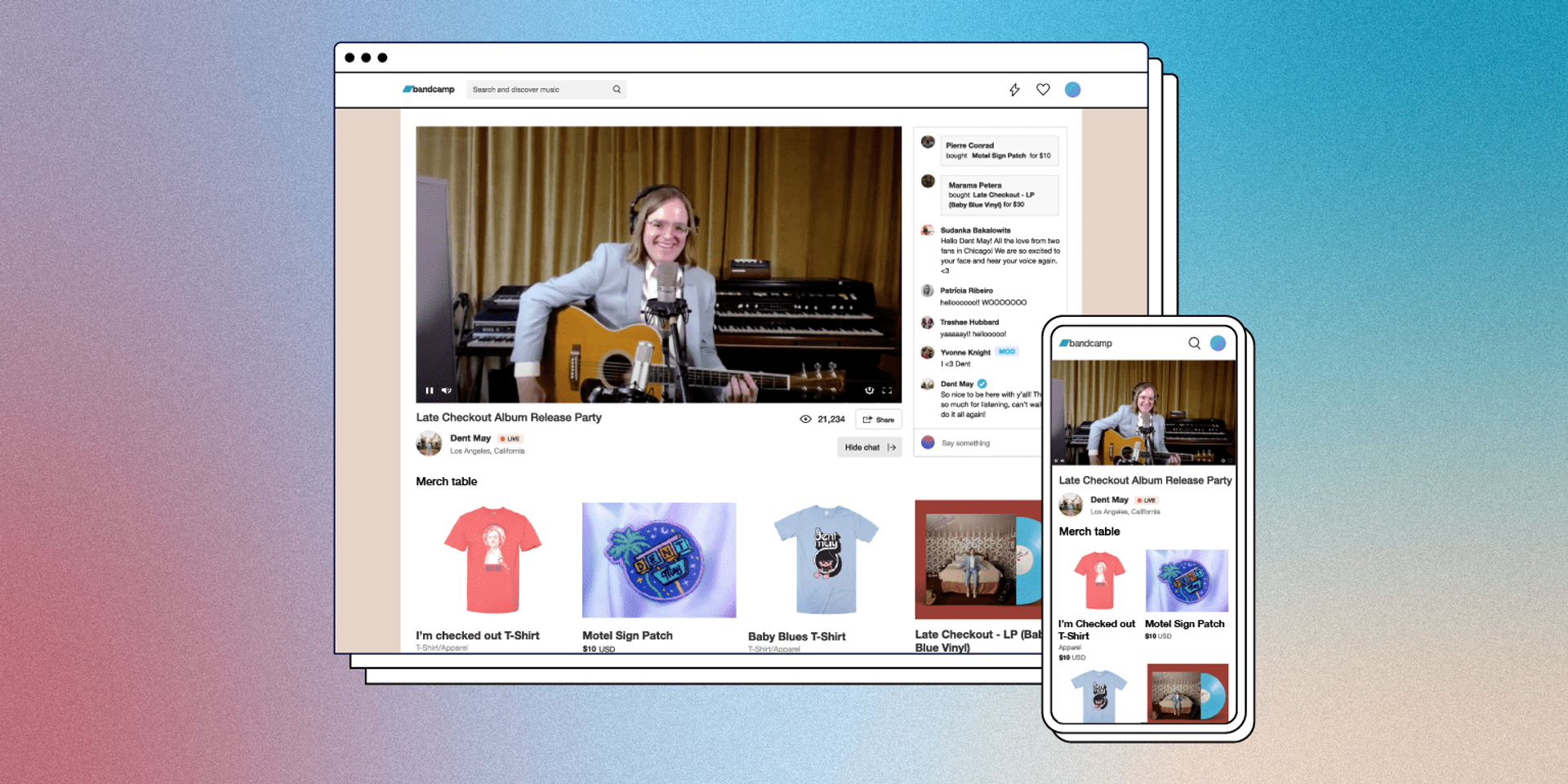 Bandcamp launches new paid livestream service 'Bandcamp Live'