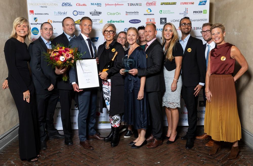Vinnare Årets Hållbarhetsinitiativ 2019 Foto: Fri Köpenskap
