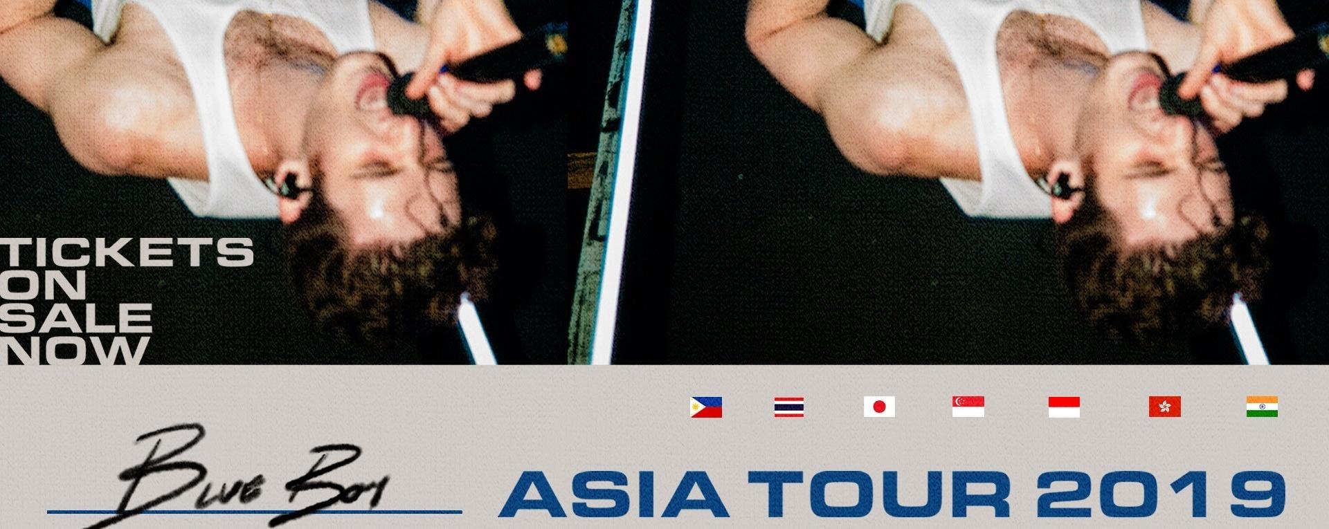 LAUV Asia Tour 2019 Singapore