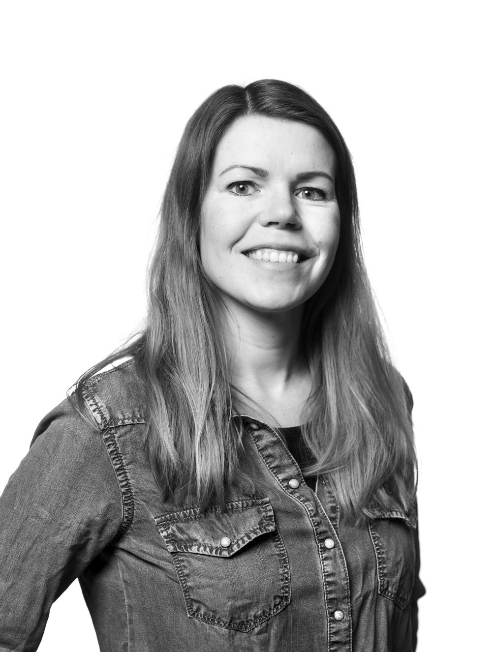 Kristina Bygdén, teamleader på marknadsavdelningen, Västerbottensteatern. Foto: Patrick Degerman.