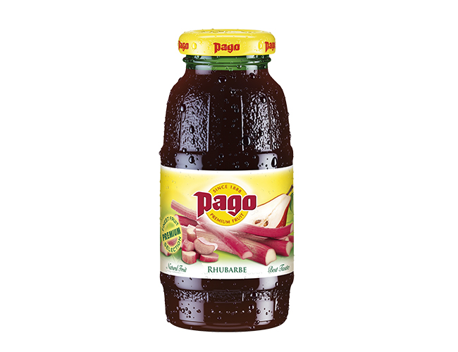 Pago rhubarb juice