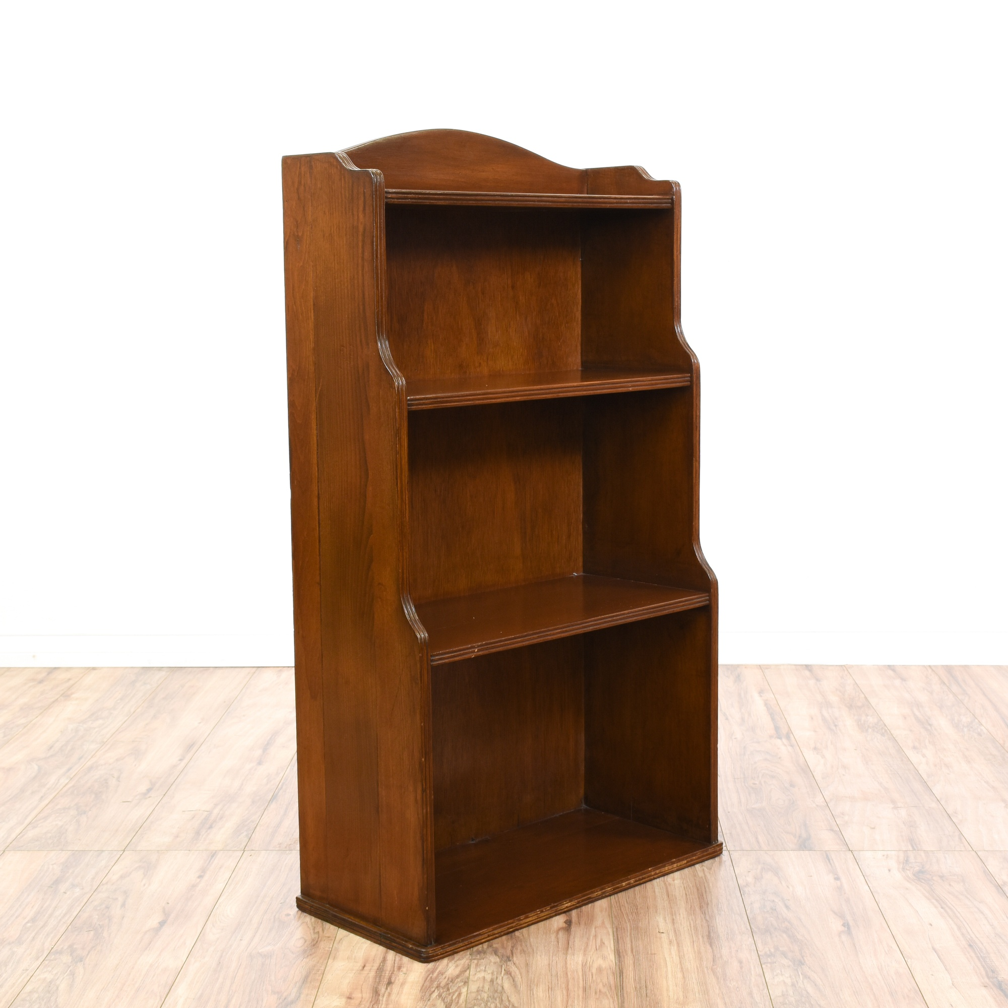 Stair Step Bookcase small cherry stair step bookcase | loveseat vintage furniture san