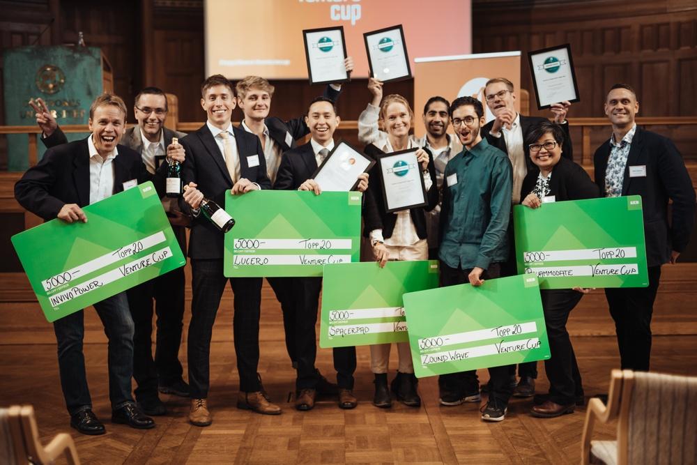 Venture Cup Västs regionala vinnare