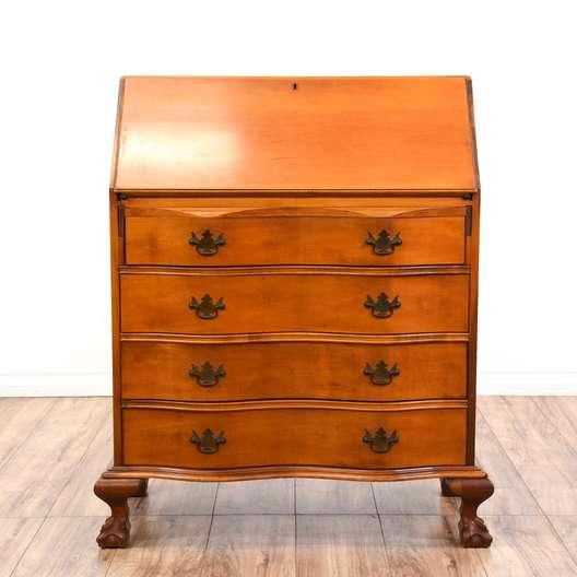 """""""Monitor Furniture Co."""" Cherry Secretary Desk"""