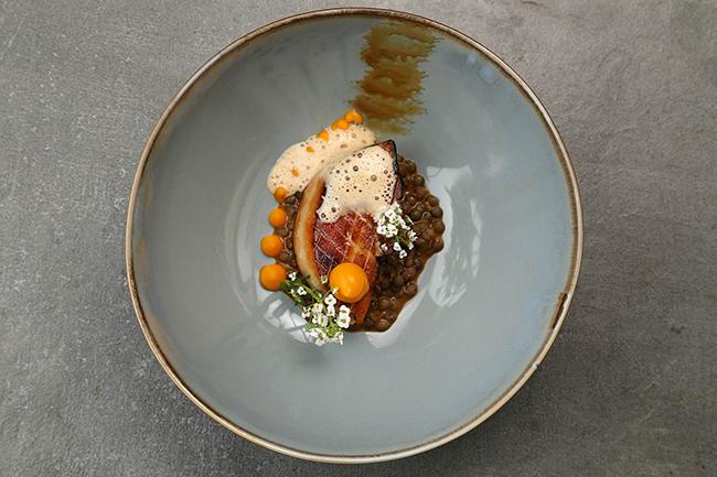 Restaurant Paul Tamburrini Foie gras
