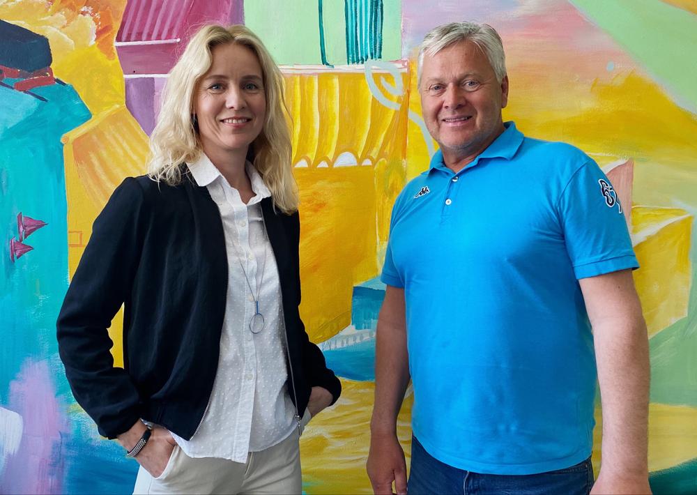 Jenny Hellman, Luleå Business Region och Anders Granberg, Luleå Näringsliv Holding