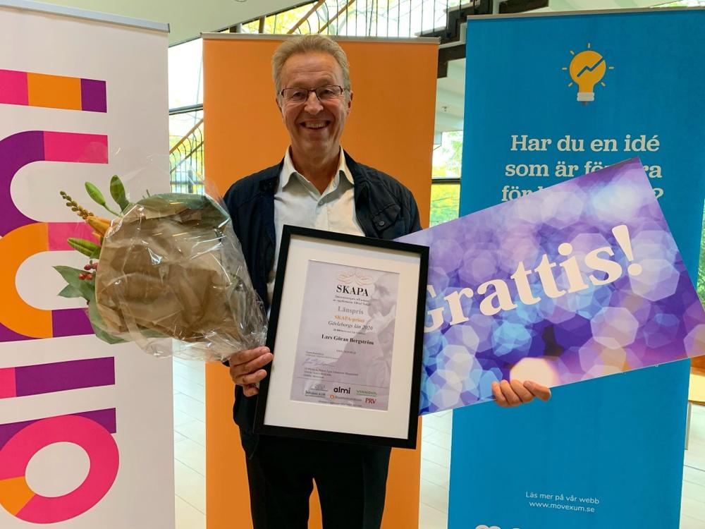 Lars-Göran Bergström, vinnare av SKAPA-priset