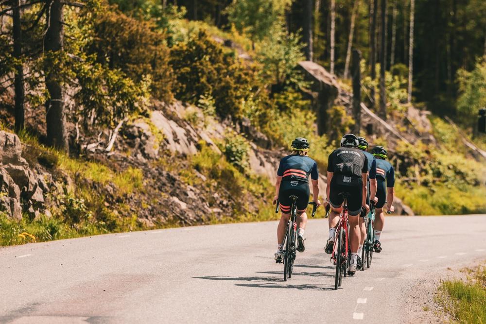 Den nya bansträckningen för Vätternrundan 315 km bjuder på många vackra miljöer.