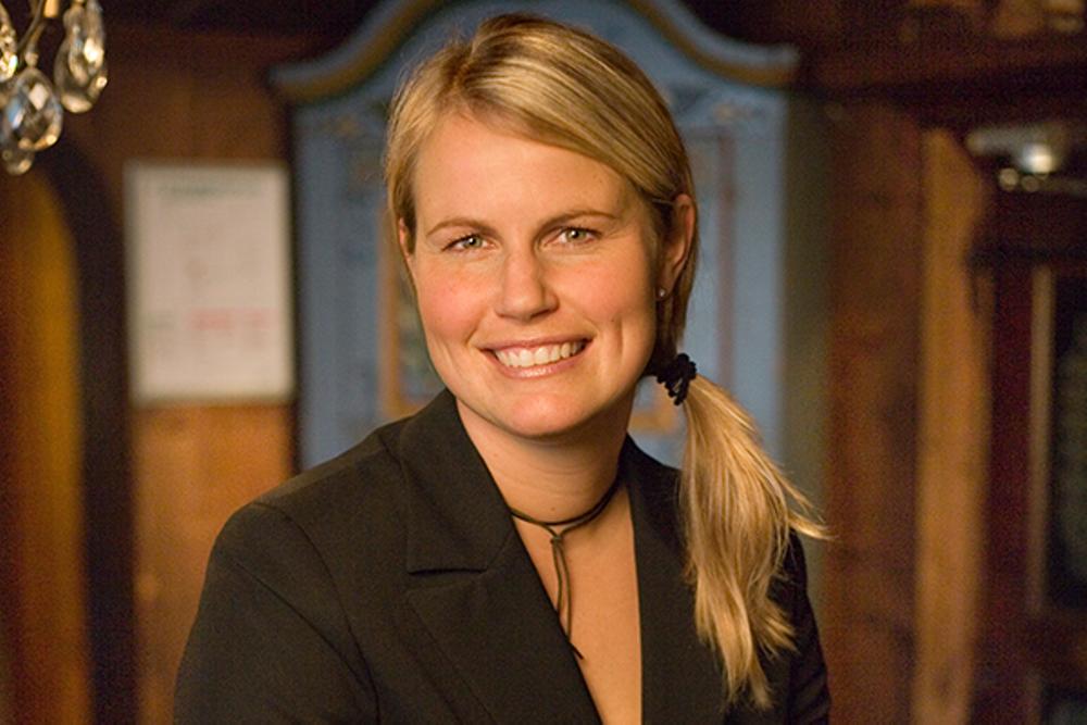 Jessica Larzon, ny anläggningschef på Mora Parken.