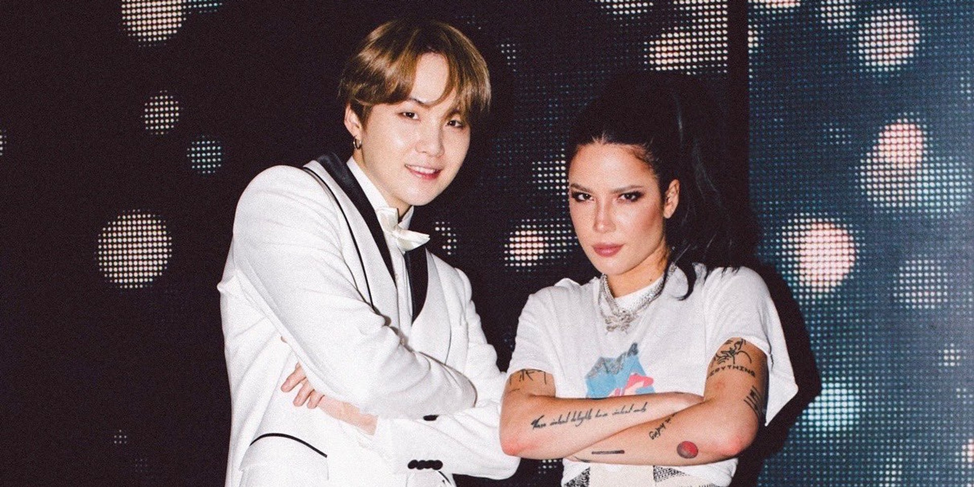 Halsey collaborates with BTS member SUGA on 'SUGA's Interlude'