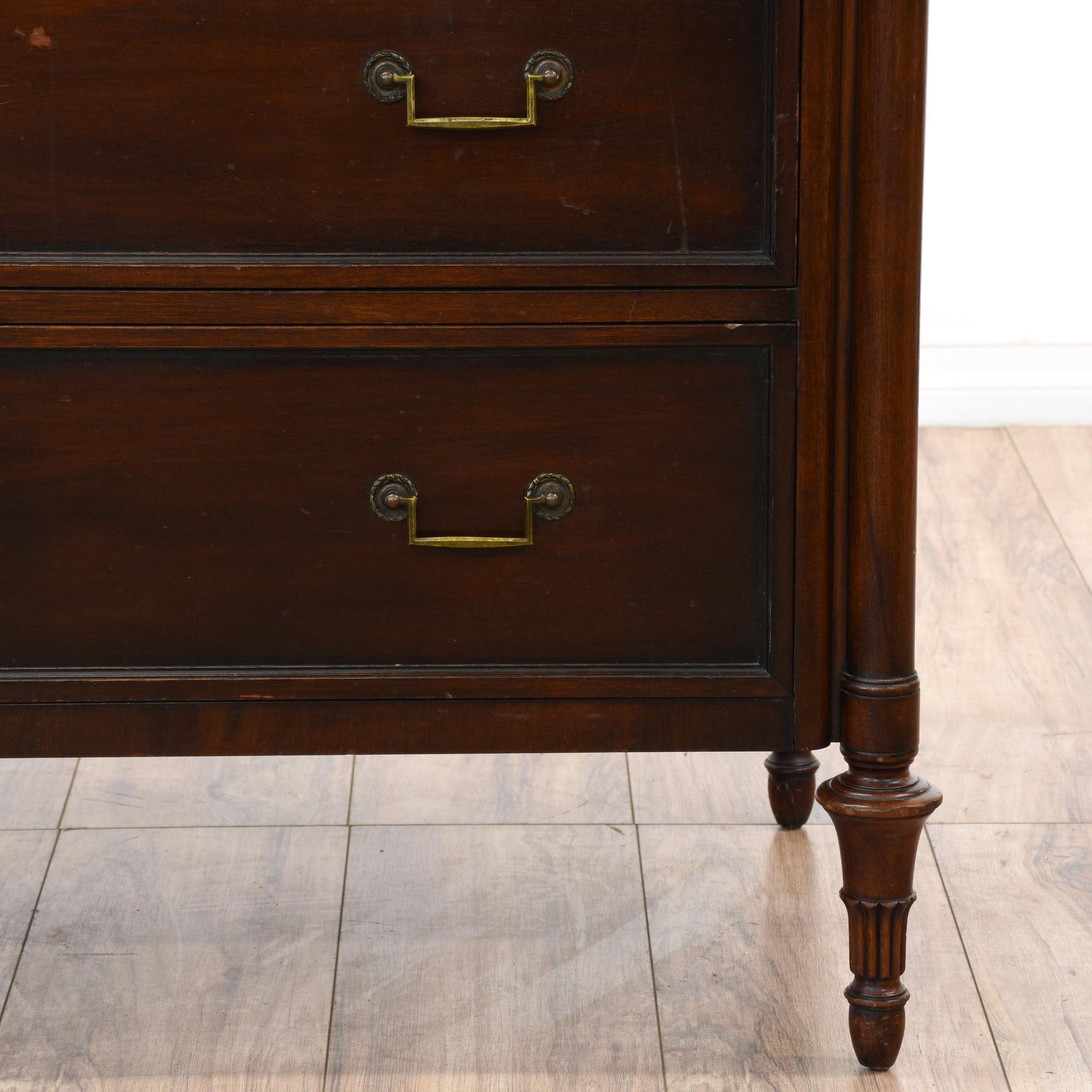 American Furniture Warehouse Desks ... Long Dresser | Loveseat Vintage Furniture San Diego & Los Angeles
